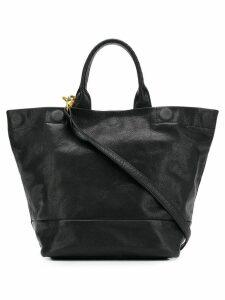 Cornelian Taurus By Daisuke Iwanaga triangle small tote bag - Black