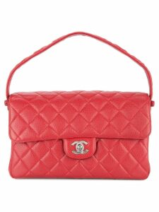Chanel Pre-Owned turn-lock double face bag - Red