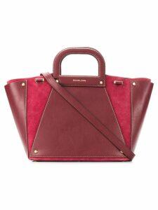 Michael Michael Kors large Clara tote bag - Red