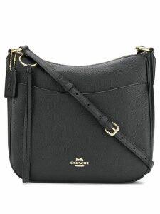 Coach pebbled saddle bag - Black