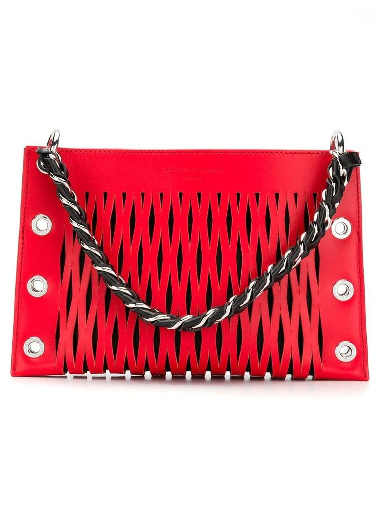 Sonia Rykiel Le baltard double pouch - Red