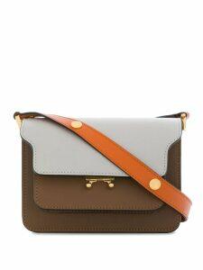 Marni Mini Trunk shoulder bag - Brown
