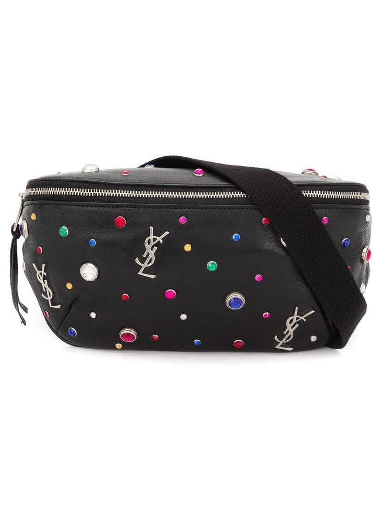 Saint Laurent Monogram belt bag - Black