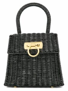 Salvatore Ferragamo Pre-Owned Ganchini hand bag - Black