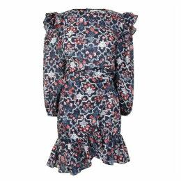Isabel Marant Etoile Telcia Waist Tie Dress