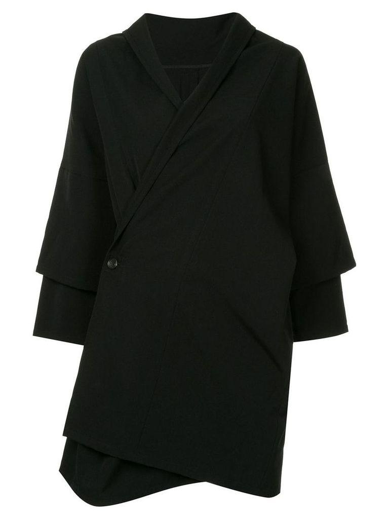Yohji Yamamoto Vintage two layer sleeve jacket - Black