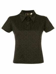 Fendi Pre-Owned short sleeve top - Brown