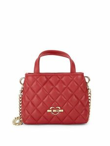 Diamond Quilted Mini Satchel