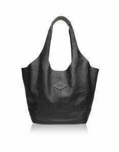 Rag & Bone Designer Handbags, Camden Black Leather Shopper