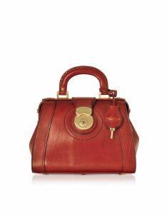 The Bridge Designer Handbags, Rufina Small Leather Doctor Bag