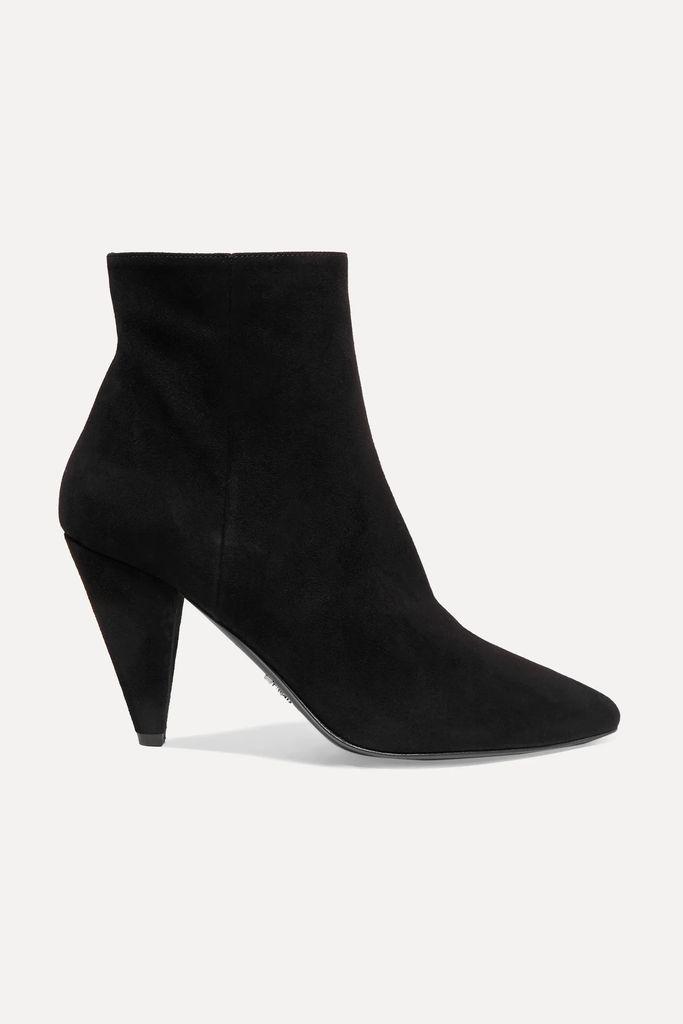 L'Agence - Chamberlain Velvet Blazer - Black