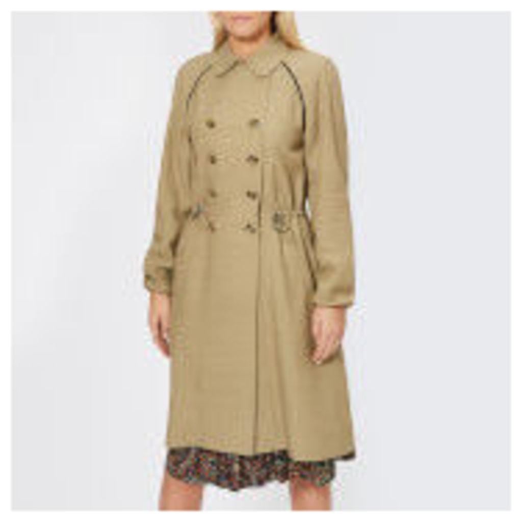 A.P.C. Women's Jackie Trench Coat - Beige Fonce - FR 38/UK 10 - Beige