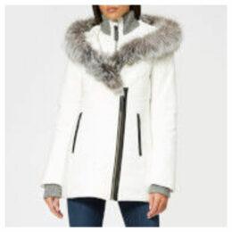 Mackage Women's Adali Fur Parka - White - L - White