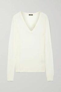 Brunello Cucinelli - Bead-embellished Silk-blend Satin Top - Green