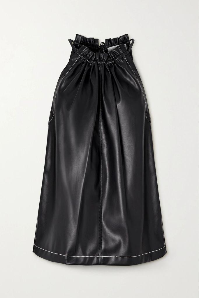 Etro - Chubasco Asymmetric Printed Silk-chiffon Dress - Magenta