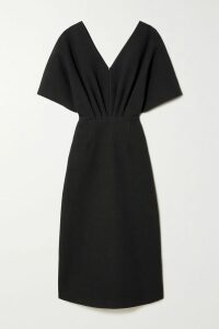 Needle & Thread - Lustre Tiered Embellished Tulle Gown - Black