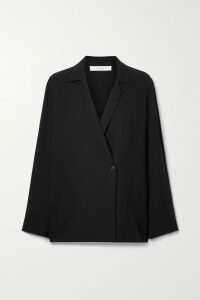 Andrew Gn - Crystal-embellished Pleated Silk-chiffon Gown - Pink