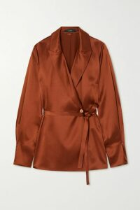 Preen Line - Marin Floral-print Georgette Maxi Dress - Black