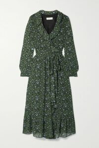 The Elder Statesman - Odyssey Striped Ribbed Cashmere Turtleneck Sweater - Beige