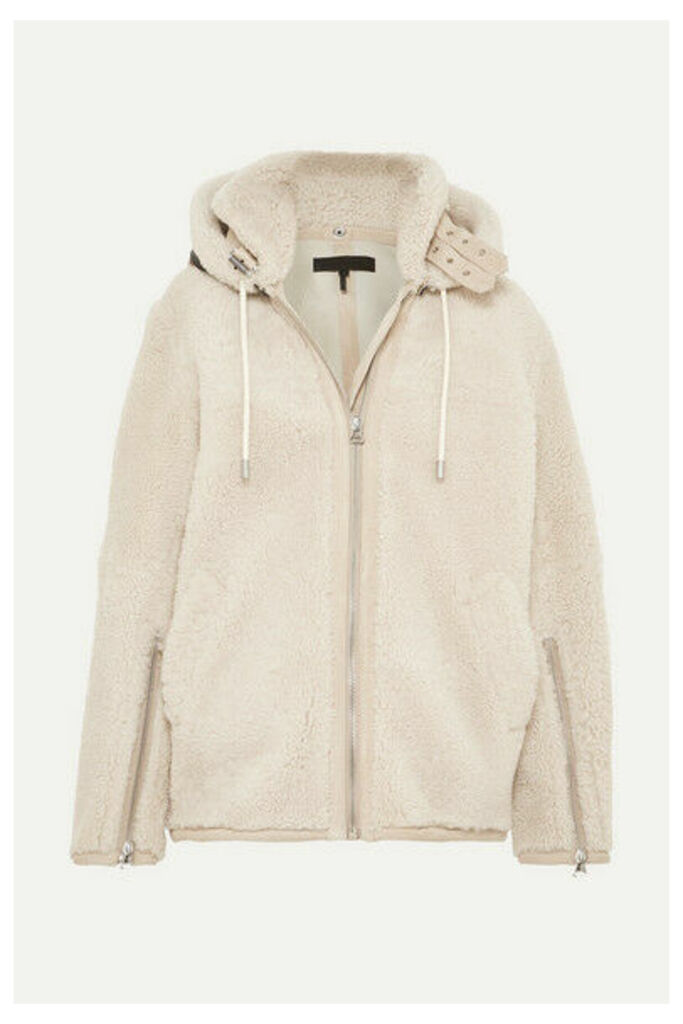 rag & bone - Ashlee Shearling Coat - Cream