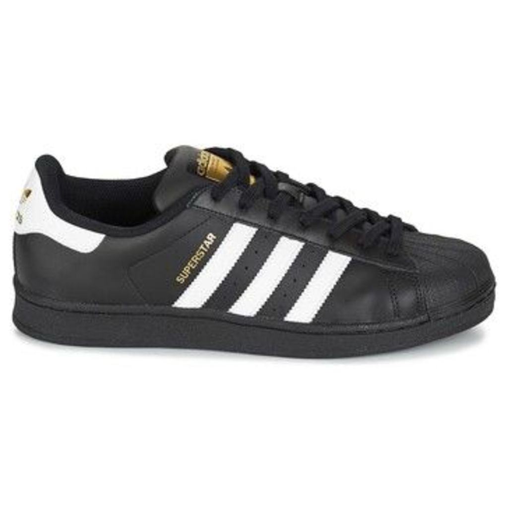 adidas  Superstar Foundation  women's Shoes (Trainers) in Black