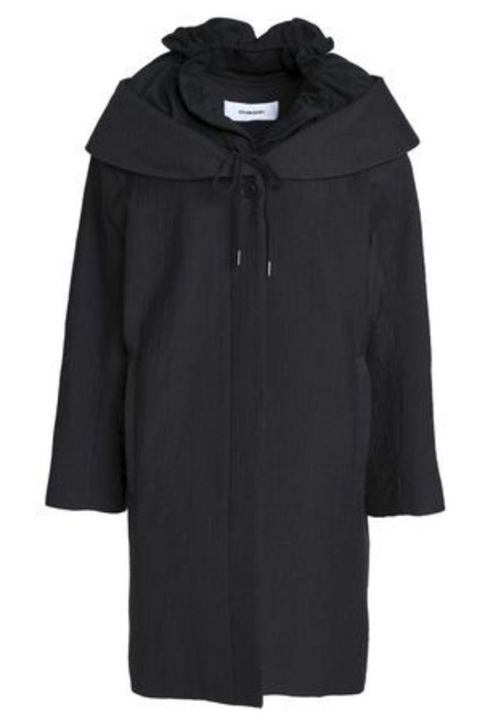Chalayan Woman Cotton-blend Cloqué Jacket Black Size L