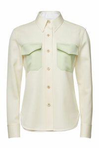 CALVIN KLEIN 205W39NYC Virgin Wool Shirt