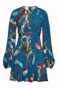 Stella Jean Printed Mini Dress
