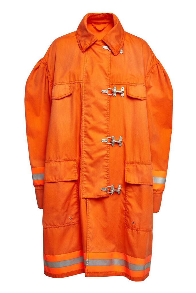 CALVIN KLEIN 205W39NYC Fireman Coat with Cotton