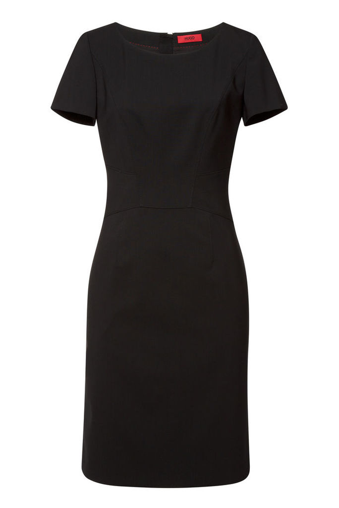 Hugo Konisa Virgin Wool Dress
