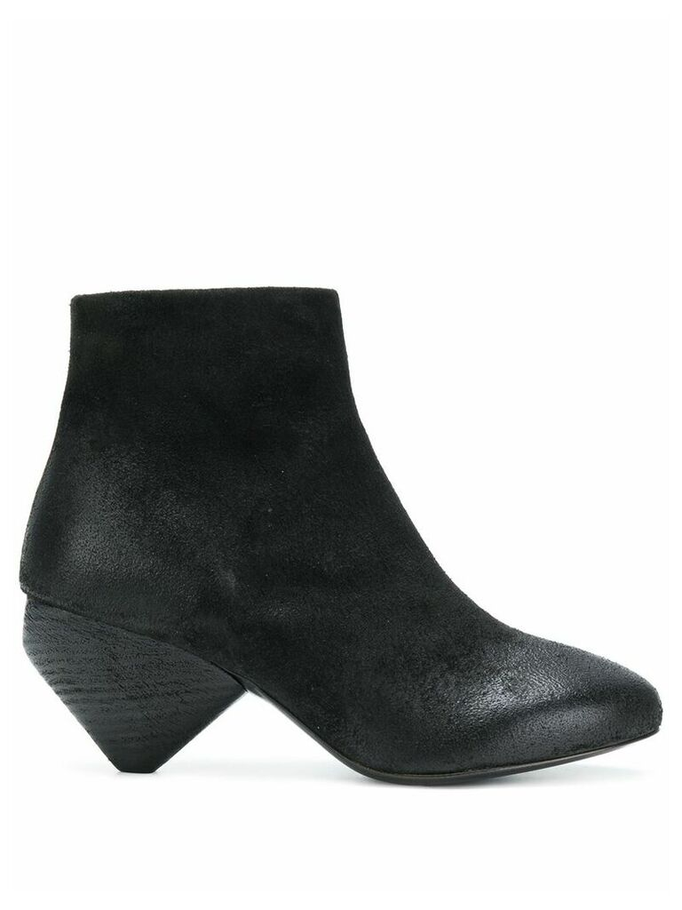 Marsèll cone-heel ankle boots - Black