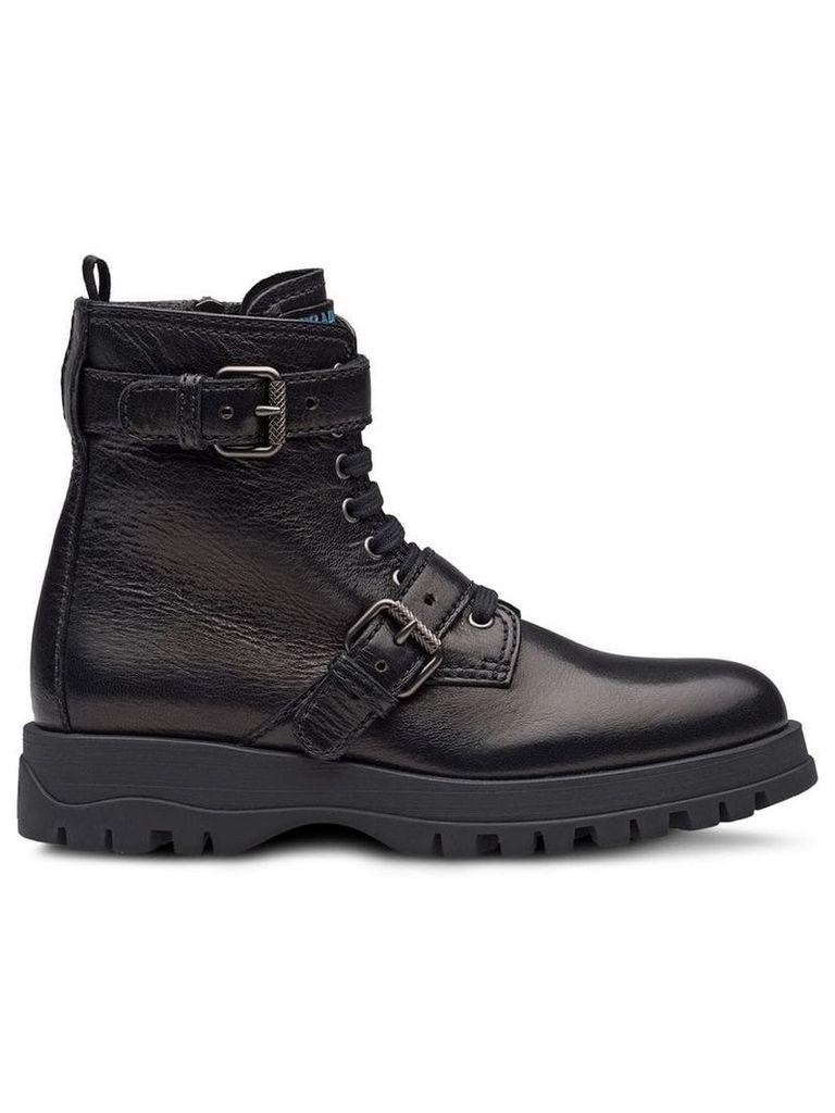 Prada Biker boots - Black