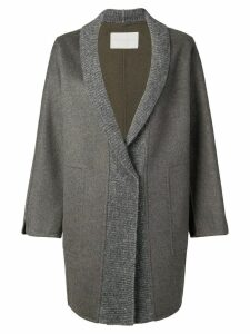 Fabiana Filippi oversized cardigan coat - Grey