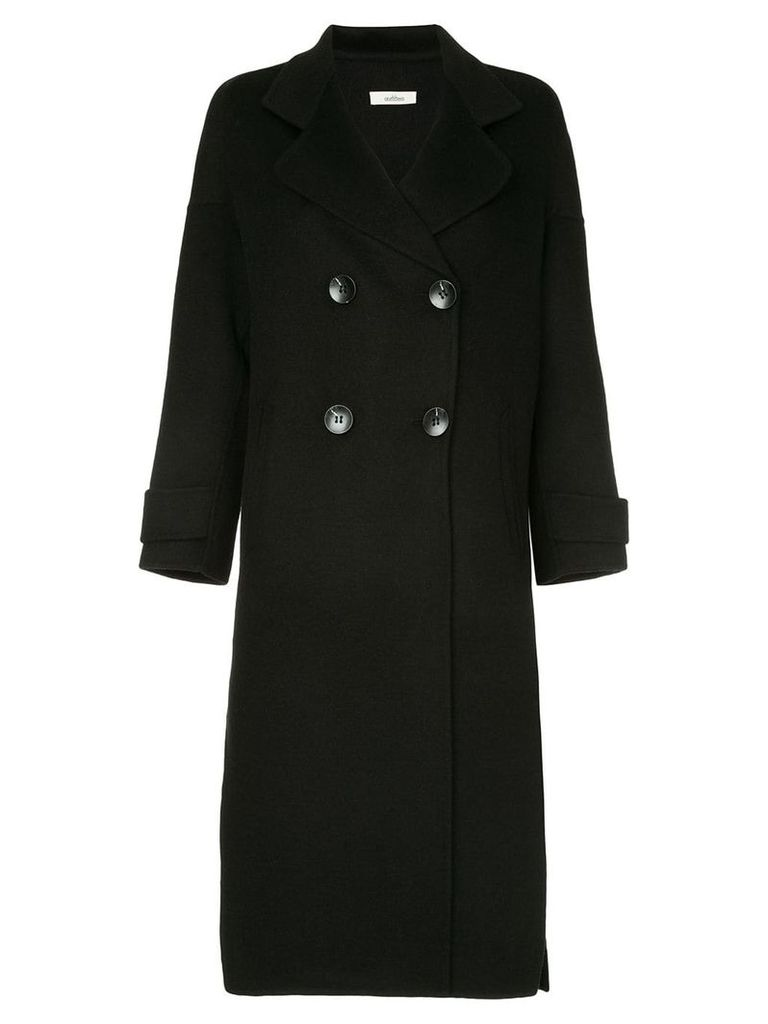 Onefifteen double breasted coat - Black
