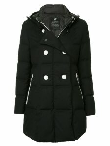 Loveless double breasted coat - Black