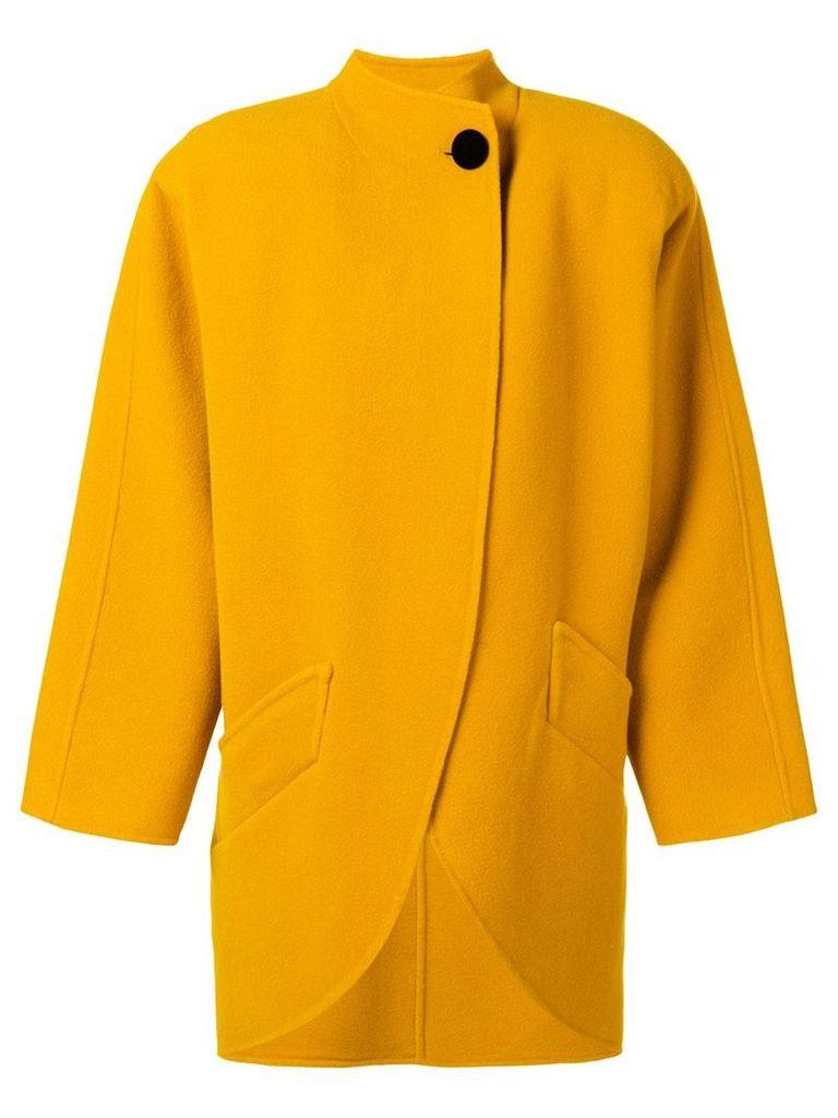 Marc Jacobs cocoon coat - Yellow