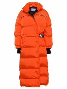 Prada puffer coat - Orange