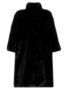 Balenciaga Pulled opera coat - Black