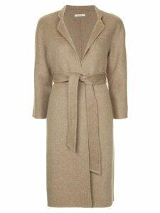 Onefifteen belted coat - Brown