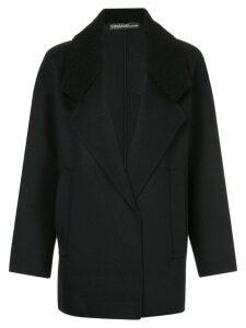 32 Paradis Sprung Frères short winter coat - Black