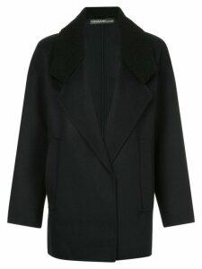 32 Paradis Sprung Frères short winter coat - Black