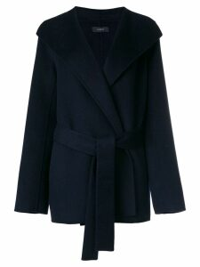 Joseph belted coat - Blue