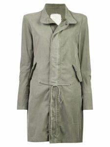 Greg Lauren mid-length jacket - Green