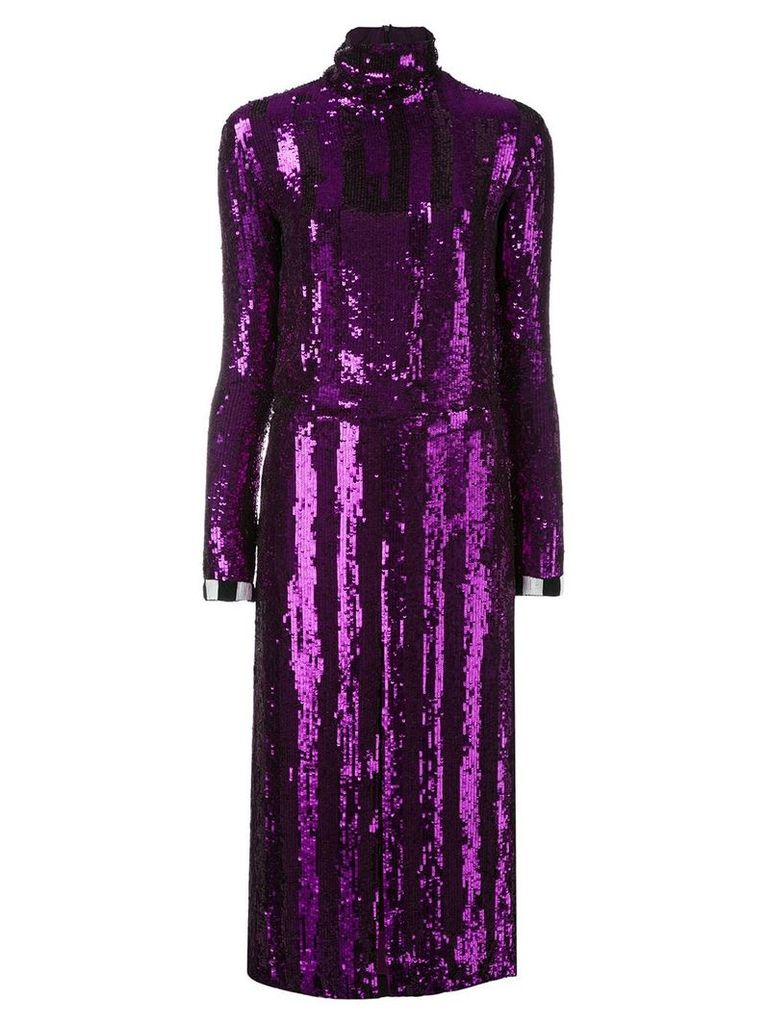 Nina Ricci sequinned dress - Purple