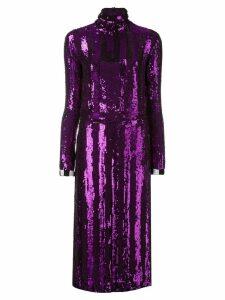 Nina Ricci sequinned dress - Purple