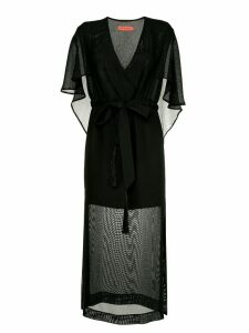 Manning Cartell Private Views cape dress - Black
