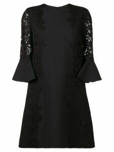 Valentino heavy lace dress - Black