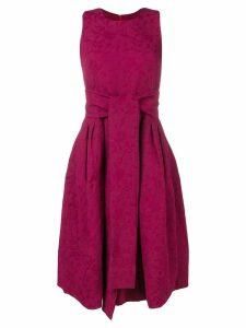 Samantha Sung sleeveless flared midi dress