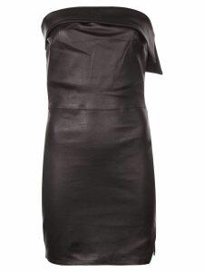 RtA Jezebel strapless dress - Black