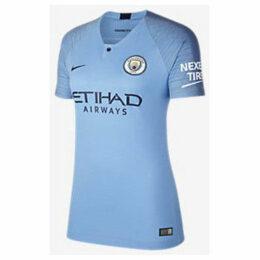 Nike  Manchester City Home 1819 Breathe Stadium Women  women's T shirt in multicolour